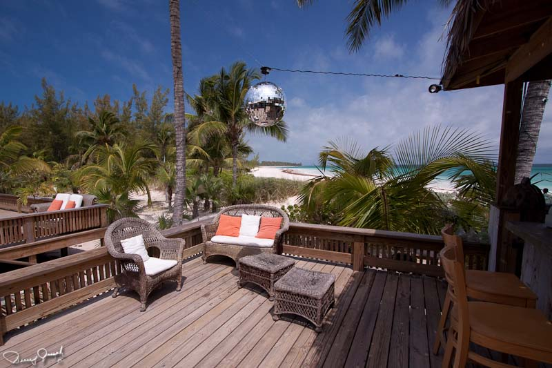 The Beach House Tiki Bar overlooks Club Med Beach