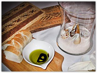 Bread and Oil Appetizers