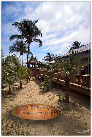 The Beach House Restaurant on Eleuthera