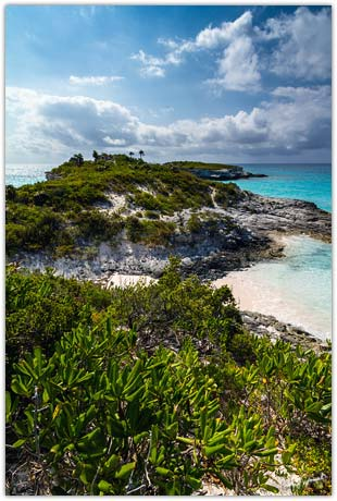 Lighthouse Point Eleuthera Island Bahamas