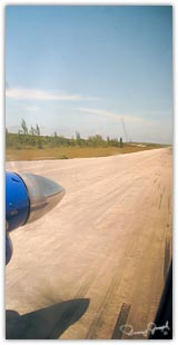 North Eleuthera airport landing strip