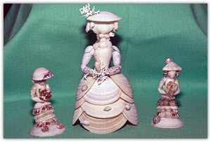 Seashell Figurines for Sale