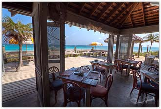 View from Tippy's Eleuthera Restaurant